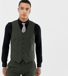 Приталенный жилет Heart & Dagger - Зеленый