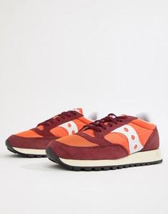 Оранжевые кроссовки Saucony Jazz Original Vintage S70368-38 - Оранжевый