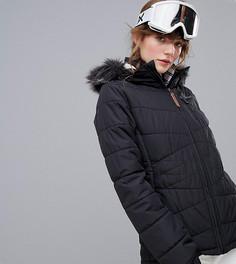 Черная зимняя куртка Protest Valdez - Черный