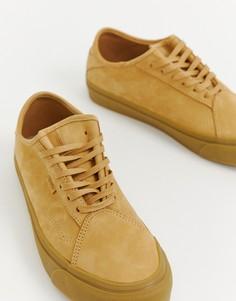 Коричневые замшевые кроссовки Vans Diamo VN0A3TKDUMD1 - Рыжий