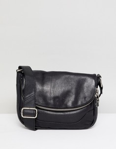 Кожаная сумка через плечо Urbancode - Черный
