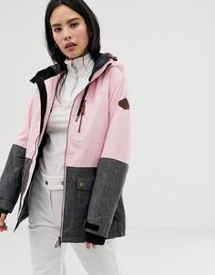 Горнолыжная куртка Surfanic Breeze - Розовый