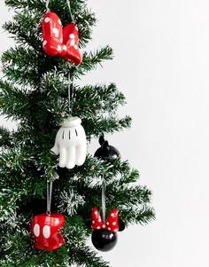 Набор новогодних украшений с дизайном Микки и Минни Typo x Disney - Мульти