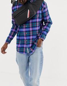 Черная нейлоновая сумка через плечо Tommy Hilfiger - Черный