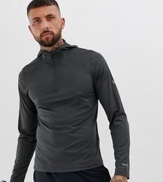 Серый худи с длинными рукавами Asics - Серый