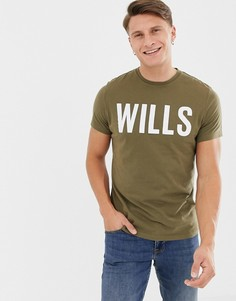 Зеленая футболка с логотипом Jack Wills Wentworth - Зеленый