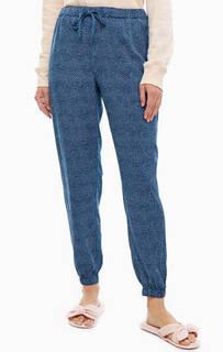 Домашние брюки из вискозы с карманами Calvin Klein