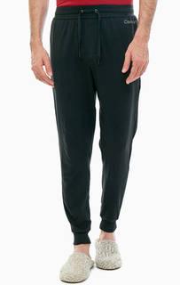 Домашние черные брюки с карманами Calvin Klein