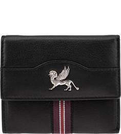 Кожаный кошелек с карманами Mano