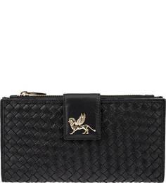 Кожаный кошелек с двумя отделениями для мелочи Mano