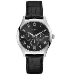 Кварцевые часы с функцией даты Guess