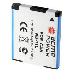 Аккумулятор ACMEPOWER AP-NB-11L, 3.7В, 600мAч, для компактных камер и видеокамер