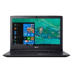 "Ноутбук ACER Aspire A315-53-37C3, 15.6"", Intel Core i3 7020U 2.3ГГц, 4Гб, 16Гб Intel Optane, 1000Гб, Intel HD Graphics 620, Windows 10, NX.H2AER.001, черный"