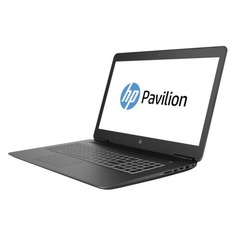 "Ноутбук HP Pavilion Gaming 17-ab416ur, 17.3"", IPS, Intel Core i5 8300H 2.3ГГц, 8Гб, 1000Гб, nVidia GeForce GTX 1050 - 4096 Мб, DVD-RW, Free DOS, 5GU38EA, черный"