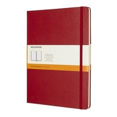 Блокнот Moleskine CLASSIC XLarge 190х250мм 192стр. линейка твердая обложка красный 6 шт./кор.