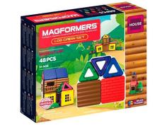 Конструктор Magformers House 705006 Домик из бревен