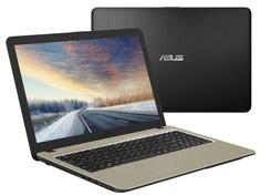 Ноутбук ASUS VivoBook X540MA-GQ297 90NB0IR1-M04590 Black (Intel Pentium N5000 1.1 GHz/4096Mb/500Gb/Intel HD Graphics/Wi-Fi/Bluetooth/Cam/15.6/1366x768/Endless)