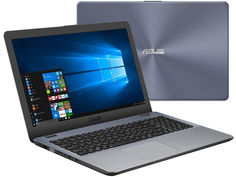 Ноутбук ASUS VivoBook X542UF-DM534T 90NB0IJ2-M07720 Dark Grey (Intel Core i5-8250U 1.6 GHz/6144Mb/1000Gb/nVidia GeForce MX130 2048Mb/Wi-Fi/Bluetooth/Cam/15.6/1920x1080/Windows 10 64-bit)
