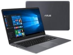 Ноутбук ASUS S510UN-BQ219T 90NB0GS5-M03170 Grey Metal (Intel Core i5-8250U 1.6 GHz/6144Mb/1000Gb/No ODD/Intel HD Graphics/Wi-Fi/Bluetooth/Cam/15.6/1920x1080/Windows 10 64-bit)