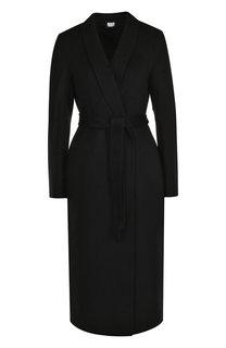 Однотонное кашемировое пальто с поясом Tse