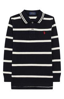 Хлопковое поло Polo Ralph Lauren