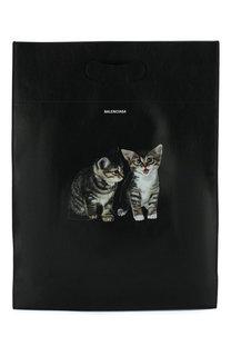 Кожаная сумка-шоппер Balenciaga
