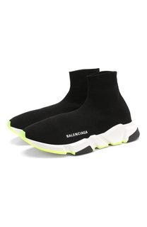 Текстильные кроссовки Speed Balenciaga