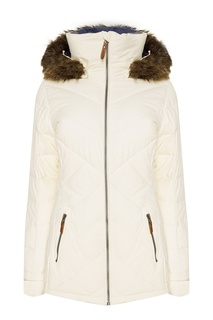 Белая куртка для сноуборда Quinn Roxy