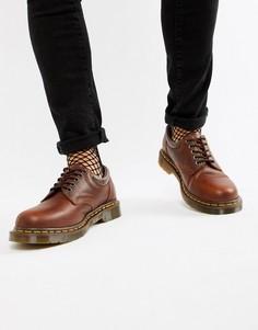 Коричневые туфли Dr.Martens 8053 - Коричневый