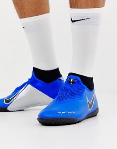 Синие кроссовки Nike Football Phantom Academy Astro Turf AO3269-400 - Синий