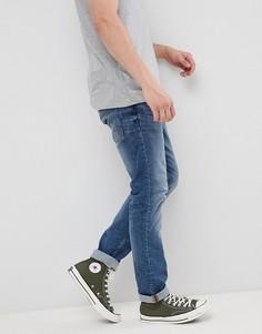 Светлые синие джинсы слим Esprit - Синий