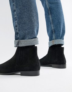 Черные кожаные ботинки челси Aldo Utterson - Черный