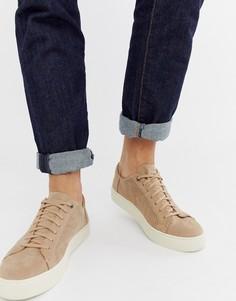 Светло-коричневые парусиновые кроссовки Toms - Рыжий