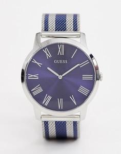 Часы из разных металлов Guess W1179G1 Richmond - Серебряный