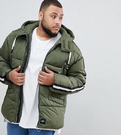 Дутая куртка цвета хаки Sixth June эксклюзивно для ASOS - Зеленый