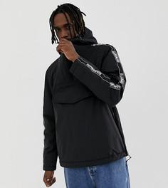 Куртка с отделкой лентой черного цвета Napapijri Rainforest - Черный