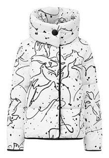 Двухсторонняя куртка на натуральном пуху La Reine Blanche