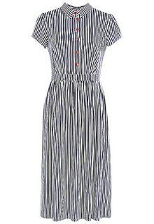 Платье в полоску LE Monique