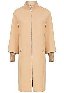 Пальто со съемными манжетами Elema