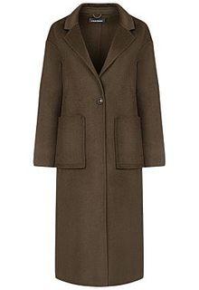 Пальто с накладными карманами La Reine Blanche
