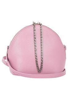 Розовая сумка из натуральной кожи La Reine Blanche