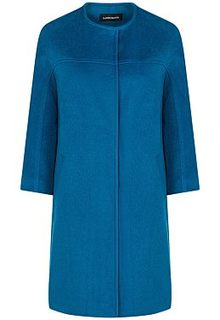 Синее пальто La Reine Blanche
