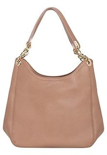 Бежевая сумка из экокожи La Reine Blanche