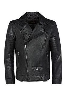 Куртка-косуха из натуральной кожи Urban Fashion for men