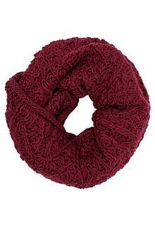 Вязаный шарф-снуд Snezhna