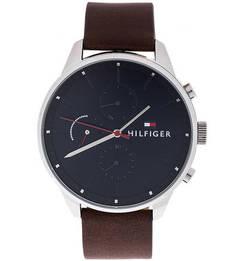 Кварцевые часы круглой формы с влагозащитой Tommy Hilfiger