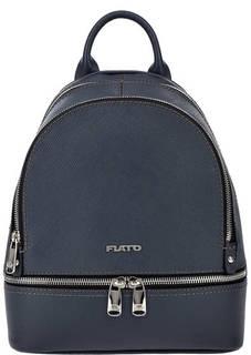 Кожаный рюкзак синего цвета Fiato