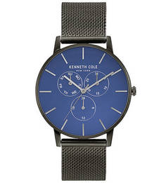 Кварцевые часы с циферблатом круглой формы DRESS SPORT Kenneth Cole