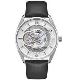 Часы с прозрачным циферблатом круглой формы Automatic Kenneth Cole
