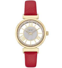 Кварцевые часы с декоративной отделкой циферблата TRANSPARENCY Kenneth Cole